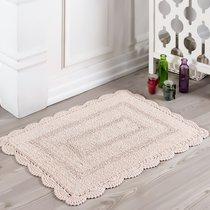 Коврик для ванной Evora, кружевной, цвет абрикосовый, 50x70 - Bilge Tekstil