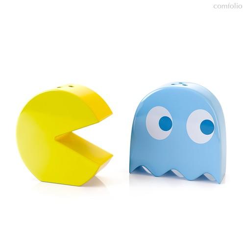 Солонка и перечница Pac-Man, цвет разноцветный - Balvi