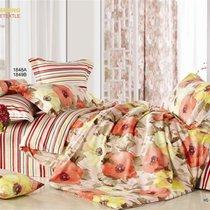 Комплект постельного белья С-128, цвет бежевый, размер 1.5-спальный - Valtery