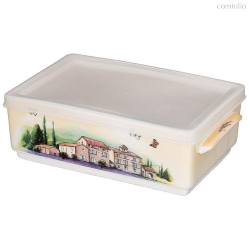 Блюдо Прямоугольное с Ручками И Силикон.Крышкой Lefard Лаванда 20,5x12 см - Meizhou Yuesenyuan