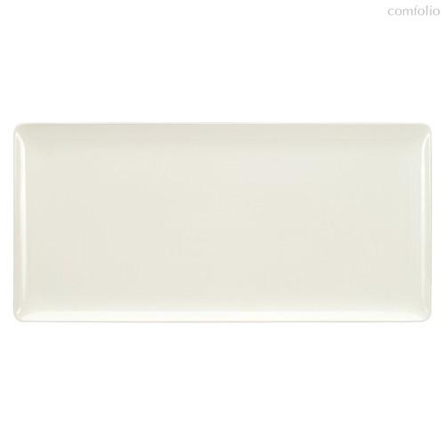 Тарелка прямоугольная Coupe 42х20 см, плоская, Purity - Bauscher