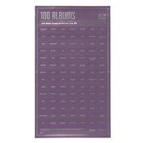Постер «100 альбомов, которые ты должен послушать, прежде чем умереть» - DOIY