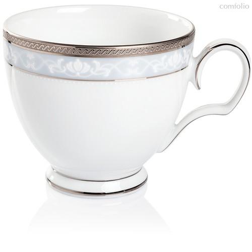 """Чашка чайная 250мл """"Хэмпшир, платиновый кант"""" - Noritake"""