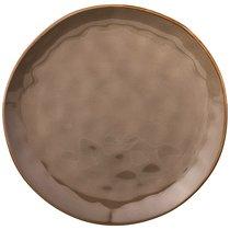 Тарелка Обеденная Concerto Диаметр 26 см Серый, цвет коричневый, 26 см - Hunan Huawei