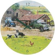 Часы настенные Lesser & Pavey Ферма d30см - Lesser & Pavey