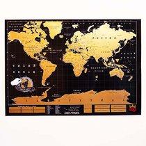 Карта мира True map черная - BadLab