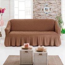Чехол д/мягкой мебели 1 пр.( 3) JUANNA, цвет коричневый - Meteor Textile