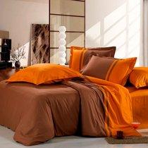 Бэлла - комплект постельного белья, цвет коричневый, 1.5-спальный - Valtery