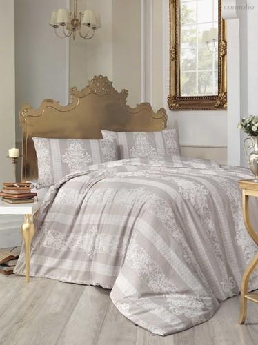 Постельное белье Ranforce 50х70*1 шт NOBBY, цвет коричневый, размер 1.5-спальный - Altinbasak Tekstil