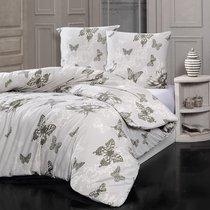 Постельное белье Karna Butterfly, Евро - Bilge Tekstil
