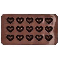 Набор форм для шоколадных конфет и пралине Birkmann Сердечки 21x11,5см, силикон, 2 шт (30 конфет) - Birkmann