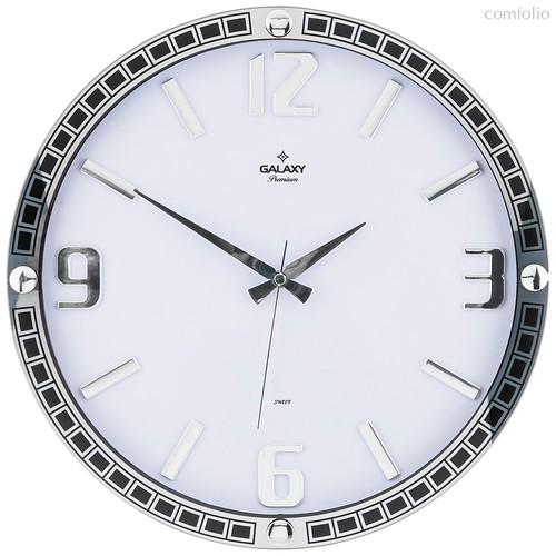 Часы Настенные Кварцевые Диаметр 39,5 см Диаметр Циферблата 34,9 см - Aypas
