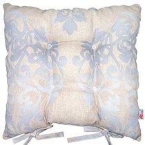 """Подушка на стул """"Генуя"""", P705-8759/7, 41х41 см, цвет голубой - Altali"""