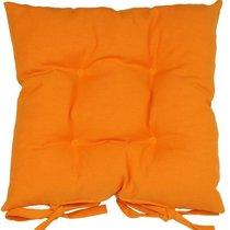 """Подушка на стул """"Оранж"""", 41х41 см, P705-Z122/1, цвет оранжевый - Altali"""