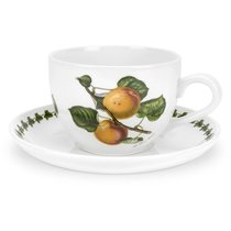 """Чашка для завтрака с блюдцем Portmeirion """"Помона.Абрикос"""" 500мл - Portmeirion"""