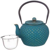 Заварочный Чайник Чугунный Бокка С Эмалированным Покрытием Внутри 1100 мл - Ningbo Gourmet