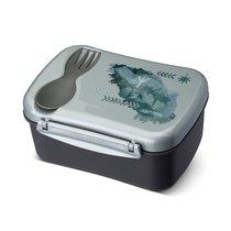 Ланч-бокс с охлаждающим элементом Wisdom N'ice Box™ Strength, цвет серый - Carl Oscar