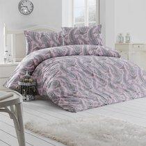 Постельное белье Ranforce Fellice, цвет пудра, размер 1.5-спальный - Altinbasak Tekstil