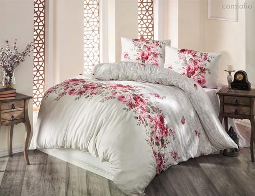 Постельное белье Ranforce Belissa, цвет бежевый, размер 1.5-спальный - Altinbasak Tekstil