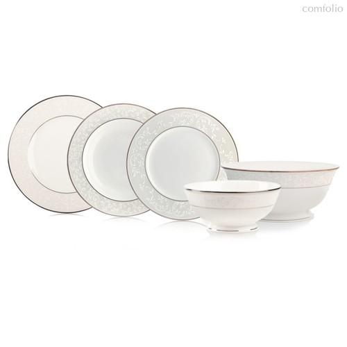 Сервиз столовый Lenox Чистый опал на 6 персон 25 предметов, фарфор - Lenox