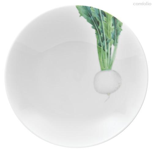 """Тарелка для пасты Noritake """"Овощной букет"""" """"Редька"""" 23см, 23 см - Noritake"""