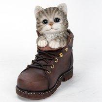 Котенок Коко в ботинке 17,5*16,5см - Art Atelier