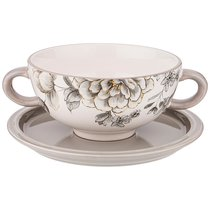 Бульонница Вдохновение 19x14x7 см / 520 мл - Huachen Ceramics