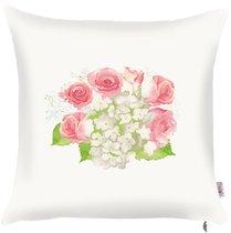 """Чехол для декоративной подушки """"Hydrangea light"""", 502-8236/1, 43х43 см, цвет розовый, 43x43 - Altali"""