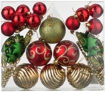 Декоративное Изделие Набор Шаров Сказочное Рождество 42 шт. - Polite Crafts&Gifts