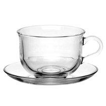 Ташкент чашка с блюдцем 96806 2 персоны 290мл - Pasabahce