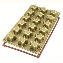 Форма для приготовления пирожных Stars силиконовая - Silikomart