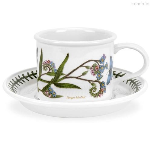 """Чашка для мокко с блюдцем Portmeirion """"Ботанический сад.Незабудка"""" 100мл - Portmeirion"""