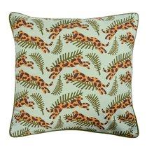 Чехол для подушки с дизайнерским принтом Big Jump из коллекции Wild, 45х45 см - Tkano