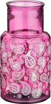 Ваза Пейсли Высота 28 см Розовая Без Упаковки - Vidrios San Miguel