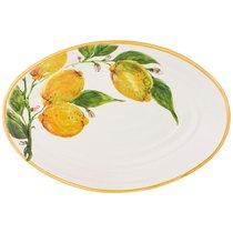 Блюдо Cuore Овальное Limoni 34Х22 см Без Упаковки - Ceramica Cuore