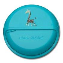 Ланч-бокс для перекусов BentoDISC™ Giraffe бирюзовый, цвет бирюзовый - Carl Oscar