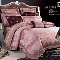 Комплект постельного белья L-33, 2-спальный - Valtery