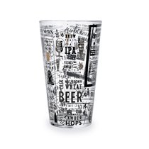 Стакан для пива Malta Paper 470мл, цвет прозрачный - Quid