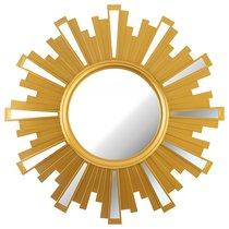 Зеркало Настенное Swiss Home 52 см Цвет Золото - Arts & Crafts