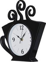 Часы Настенные Кварцевые Chef Kitchen 26X30 см Цвет: Черный Циферблат Диаметр 15 см - Arts & Crafts