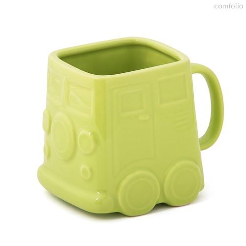 Кружка Van зеленая, цвет зеленый - Balvi
