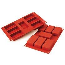 Форма для приготовления пирожных Rettangolo силиконовая - Silikomart