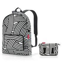 Рюкзак складной Mini maxi zebra - Reisenthel