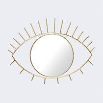 Зеркало настенное Cyclops большое золотое - DOIY