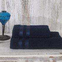 Полотенце махровое Karna Petek, цвет синий, 50x100 - Bilge Tekstil