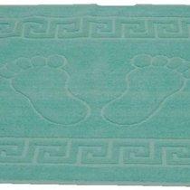 Полотенце-коврик для ног Turquase (бирюзовый), цвет бирюзовый, 50x70 - Roseberry