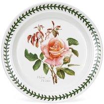 """Тарелка закусочная Portmeirion """"Ботанический сад.Розы. Наилучшие пожелания чайная роза"""" 20см - Portmeirion"""