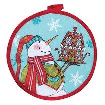 """Прихватка KAY DEE DESIGNS """"Рождественская история.Снеговик"""" 20см - Kay Dee Designs"""