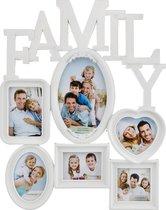 Фоторамка-Коллаж 50x40x3 см На 6 Фото 10x15/9x13/10x10/13x18 см - Polite Crafts&Gifts