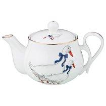 Чайник Заварочный Гуси 350 мл - Kingensin Porcelain Industrial